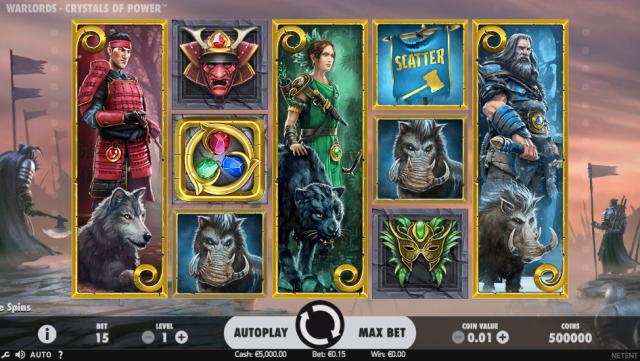 Warlords slots